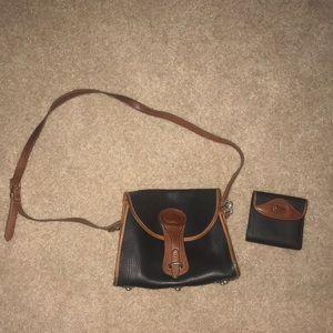 Vintage Dooney & Bourke bag and wallet